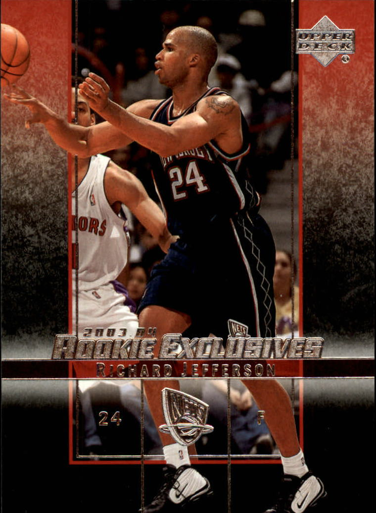 2003-04 Upper Deck Rookie Exclusives #40 Richard Jefferson