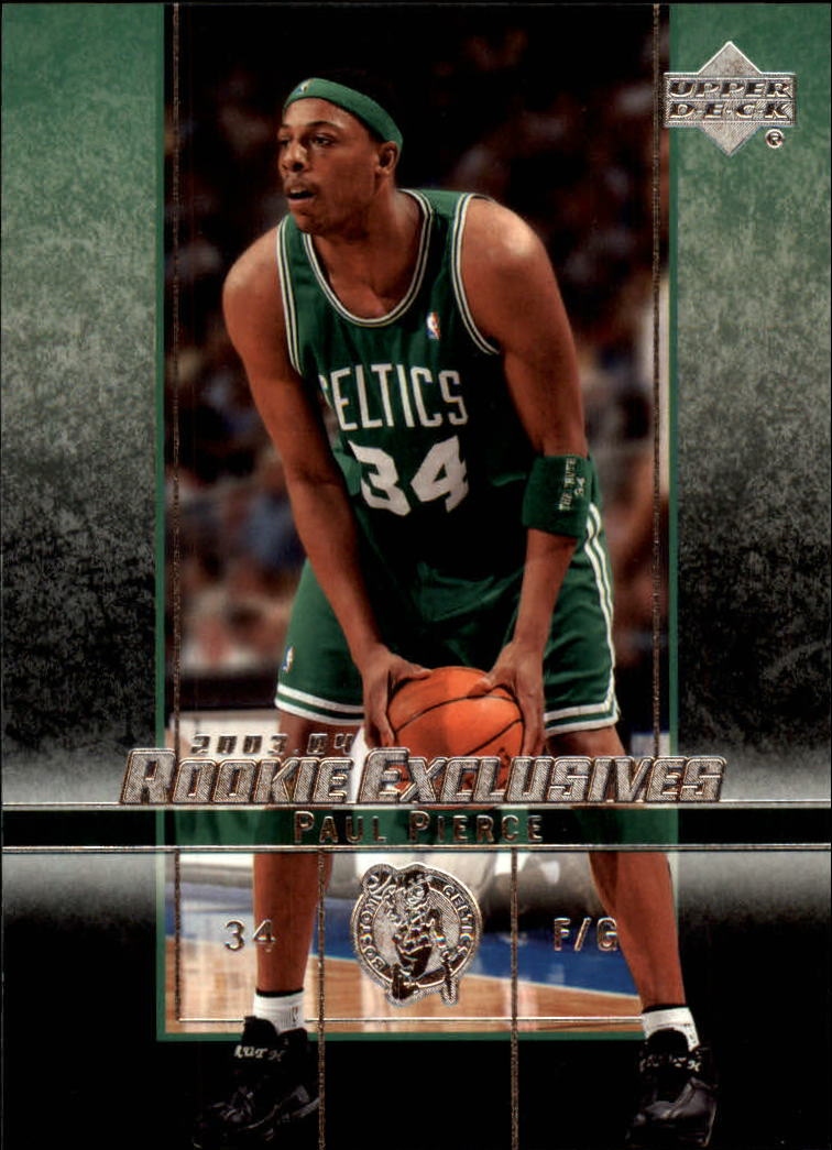 2003-04 Upper Deck Rookie Exclusives #41 Paul Pierce
