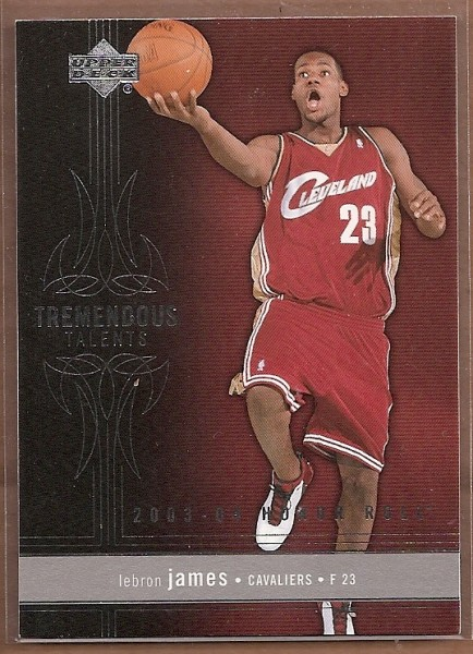 2003-04 Upper Deck Honor Roll Tremendous Talents #TT7 LeBron James