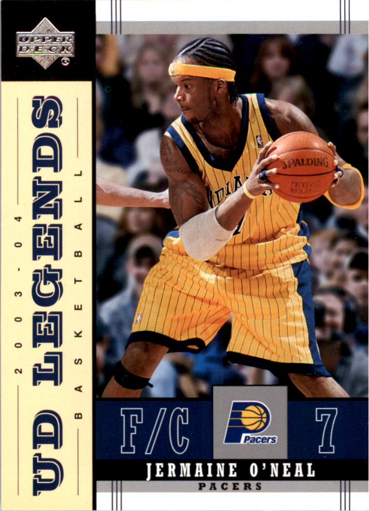 2003-04 Upper Deck Legends #29 Jermaine O'Neal