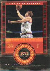 2003-04 Upper Deck Legends #101 Kyle Korver RC