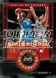 2003-04 Upper Deck Legends #133 Carmelo Anthony RC