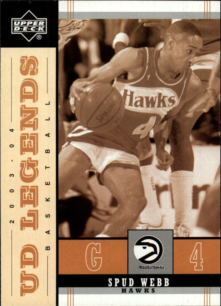 2003-04 Upper Deck Legends Throwback #2 Spud Webb