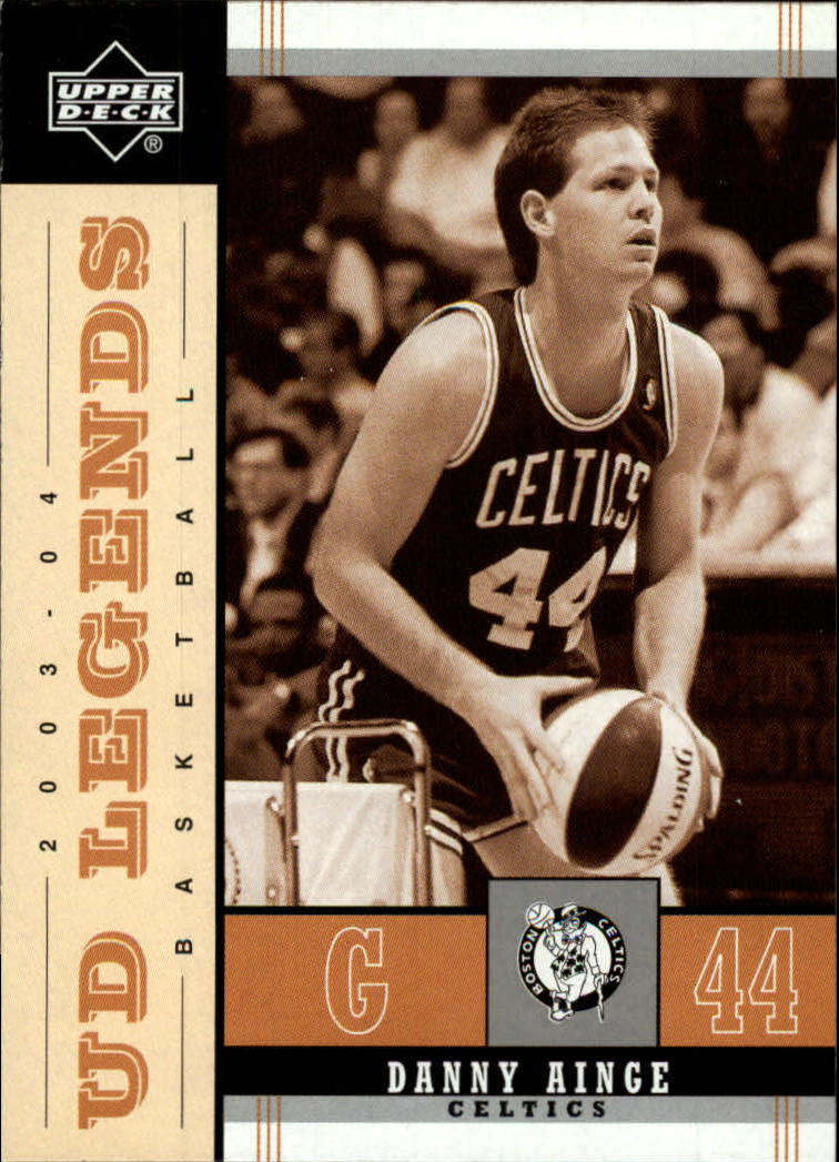 2003-04 Upper Deck Legends Throwback #3 Danny Ainge