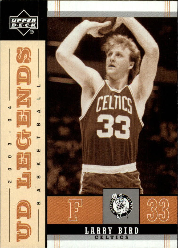2003-04 Upper Deck Legends Throwback #4 Larry Bird