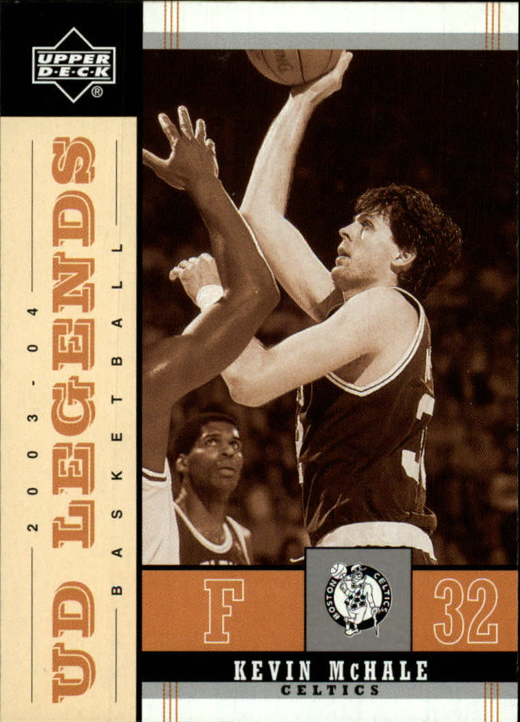 2003-04 Upper Deck Legends Throwback #8 Kevin McHale