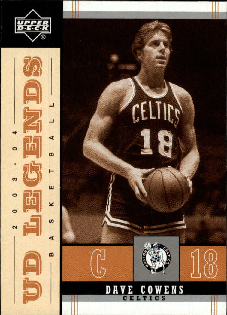 2003-04 Upper Deck Legends Throwback #9 Dave Cowens