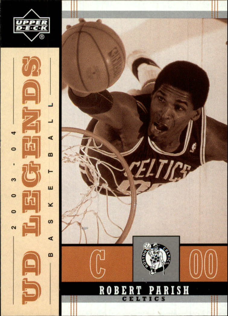 2003-04 Upper Deck Legends Throwback #12 Robert Parish front image