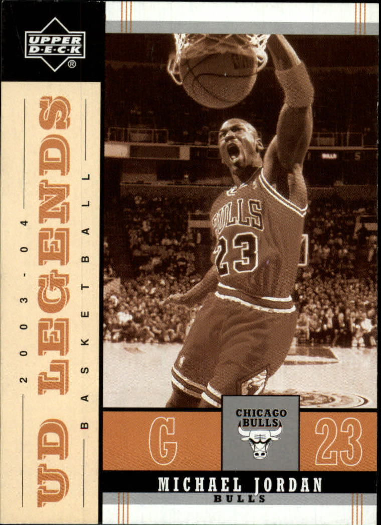 2003-04 Upper Deck Legends Throwback #14 Michael Jordan