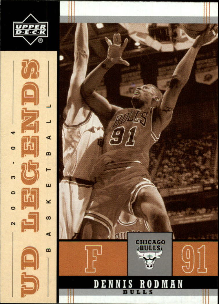 2003-04 Upper Deck Legends Throwback #15 Dennis Rodman