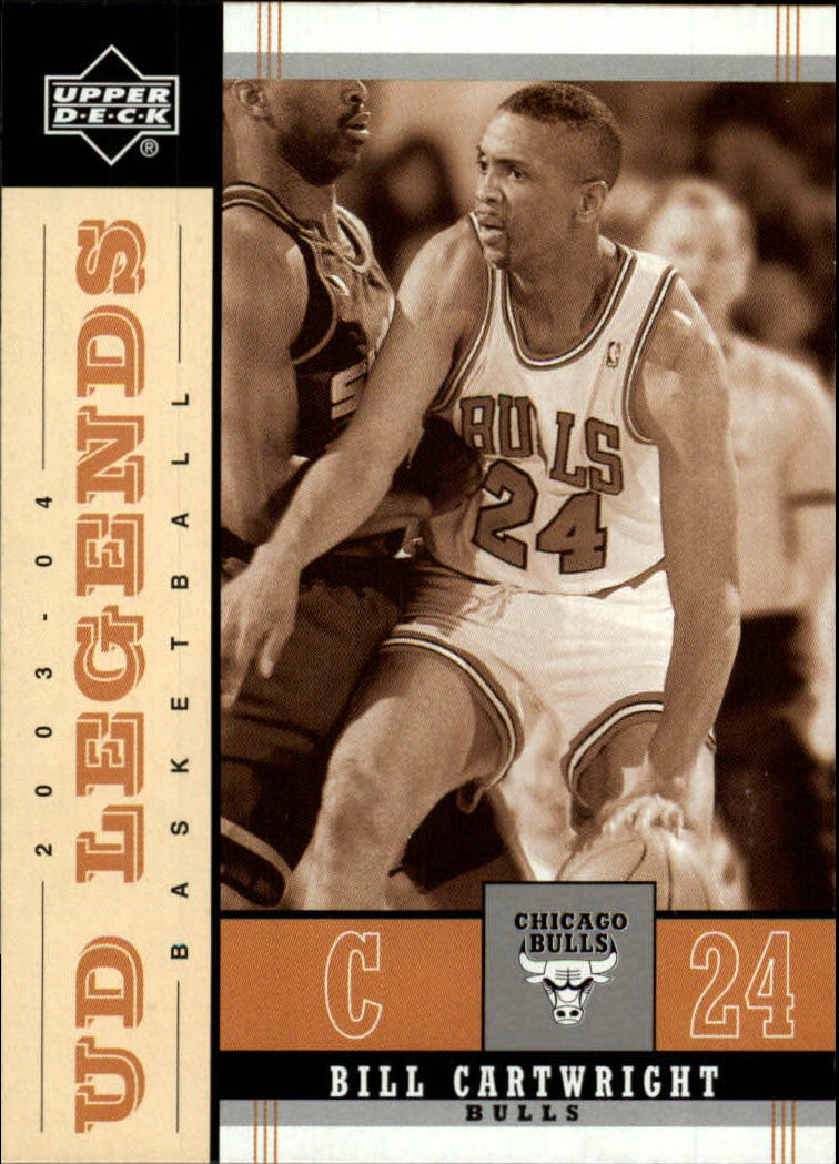 2003-04 Upper Deck Legends Throwback #16 Bill Cartwright