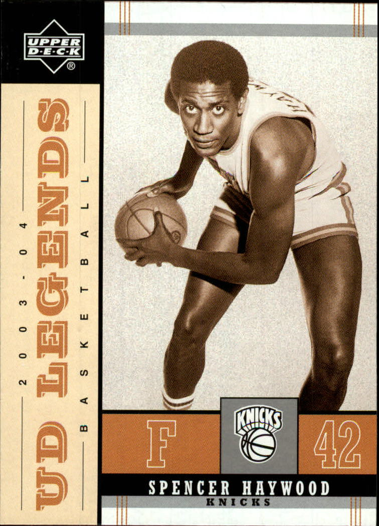 2003-04 Upper Deck Legends Throwback #17 Spencer Haywood