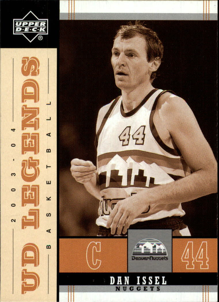 2003-04 Upper Deck Legends Throwback #21 Dan Issel