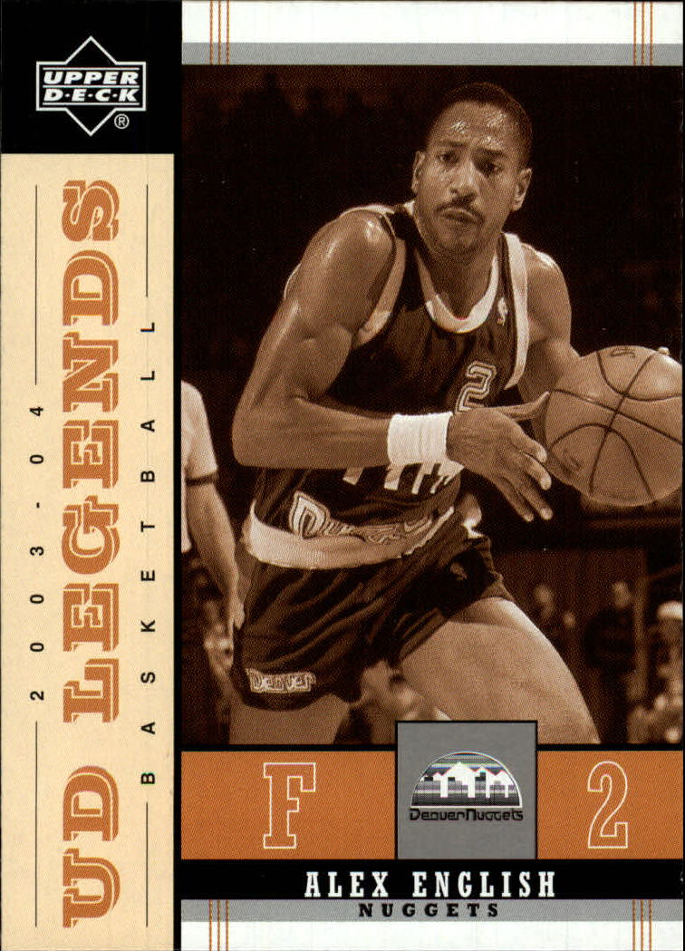 2003-04 Upper Deck Legends Throwback #23 Alex English