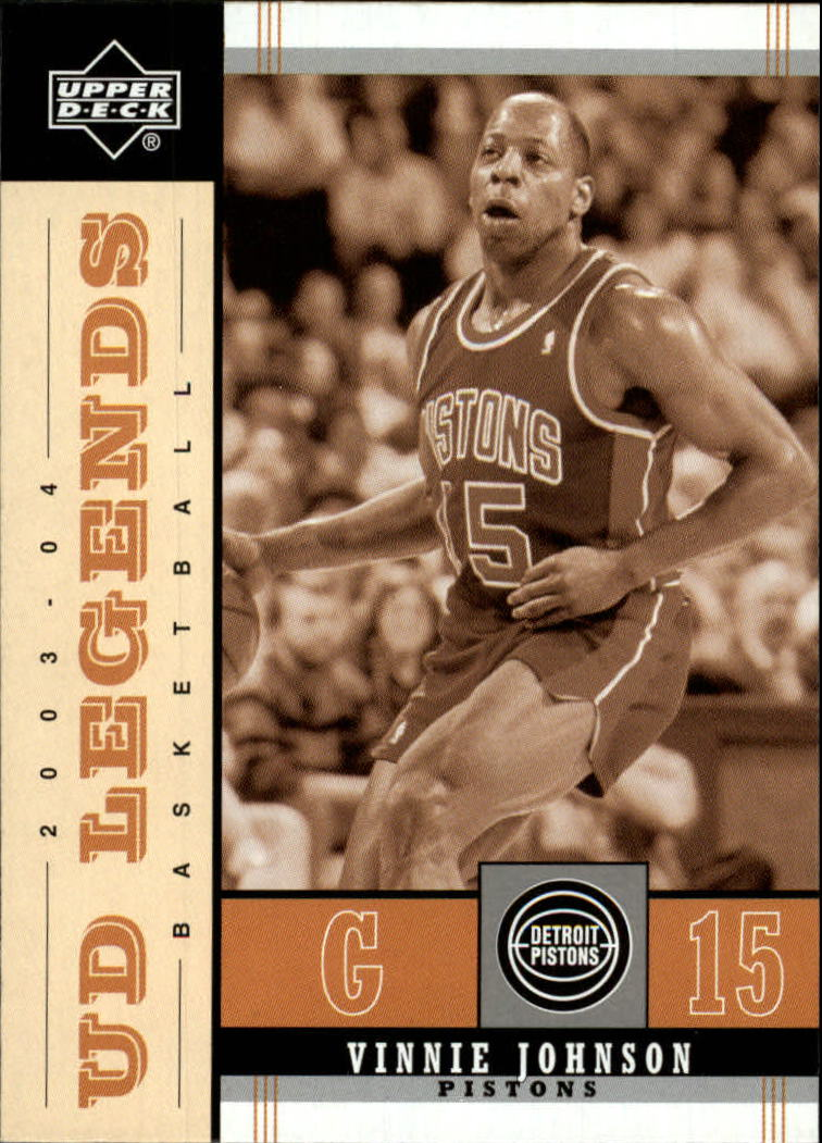 2003-04 Upper Deck Legends Throwback #28 Vinnie Johnson