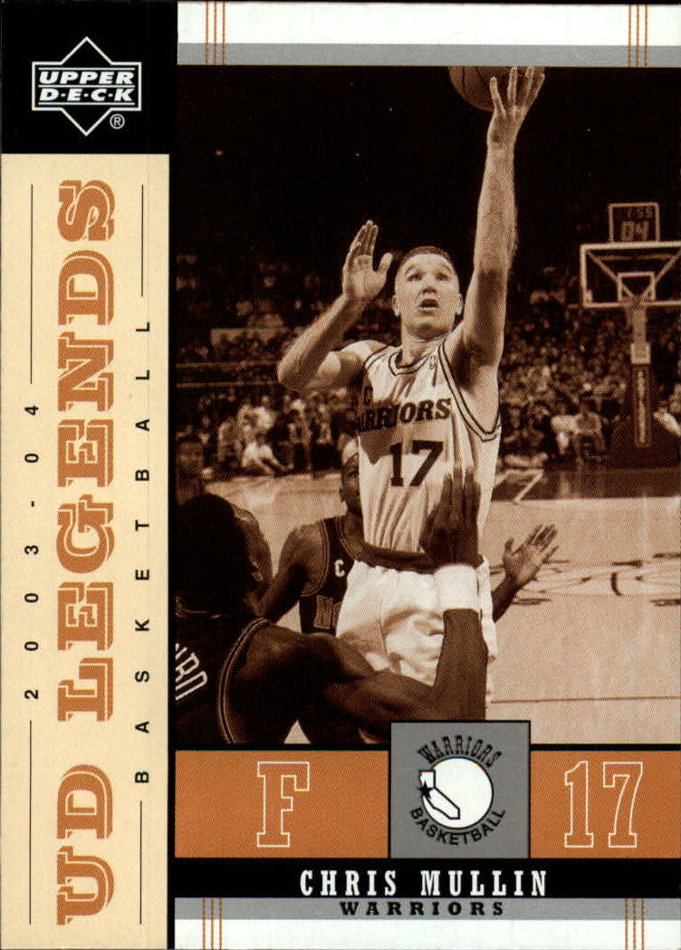 2003-04 Upper Deck Legends Throwback #32 Chris Mullin