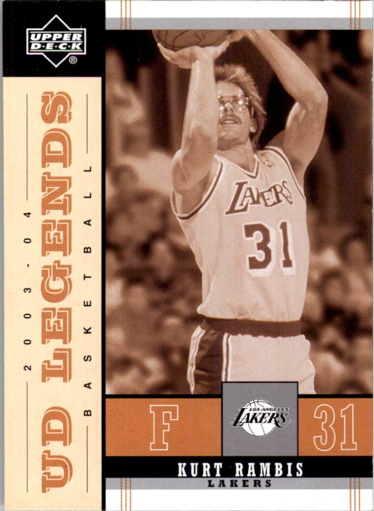 2003-04 Upper Deck Legends Throwback #41 Kurt Rambis