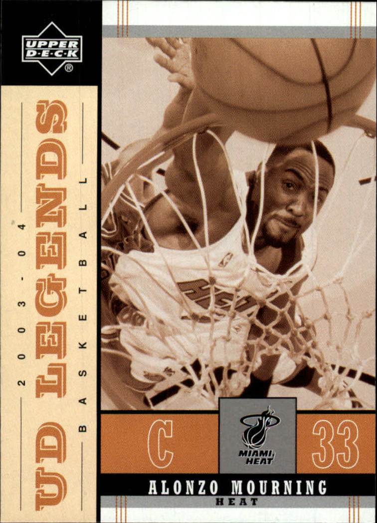 2003-04 Upper Deck Legends Throwback #49 Alonzo Mourning