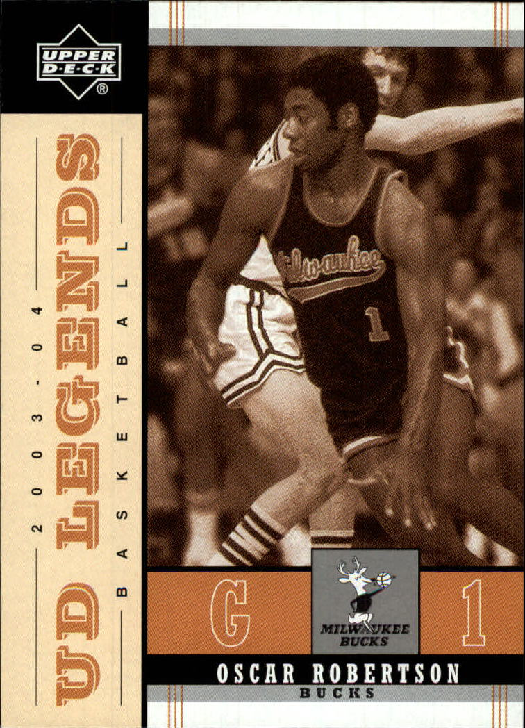 2003-04 Upper Deck Legends Throwback #53 Oscar Robertson