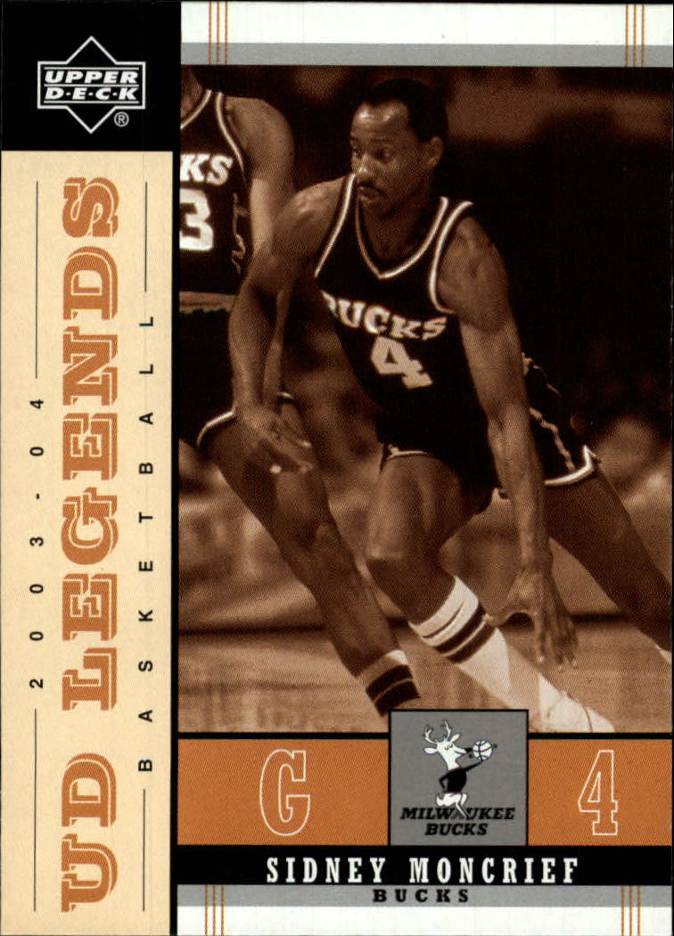 2003-04 Upper Deck Legends Throwback #54 Sidney Moncrief