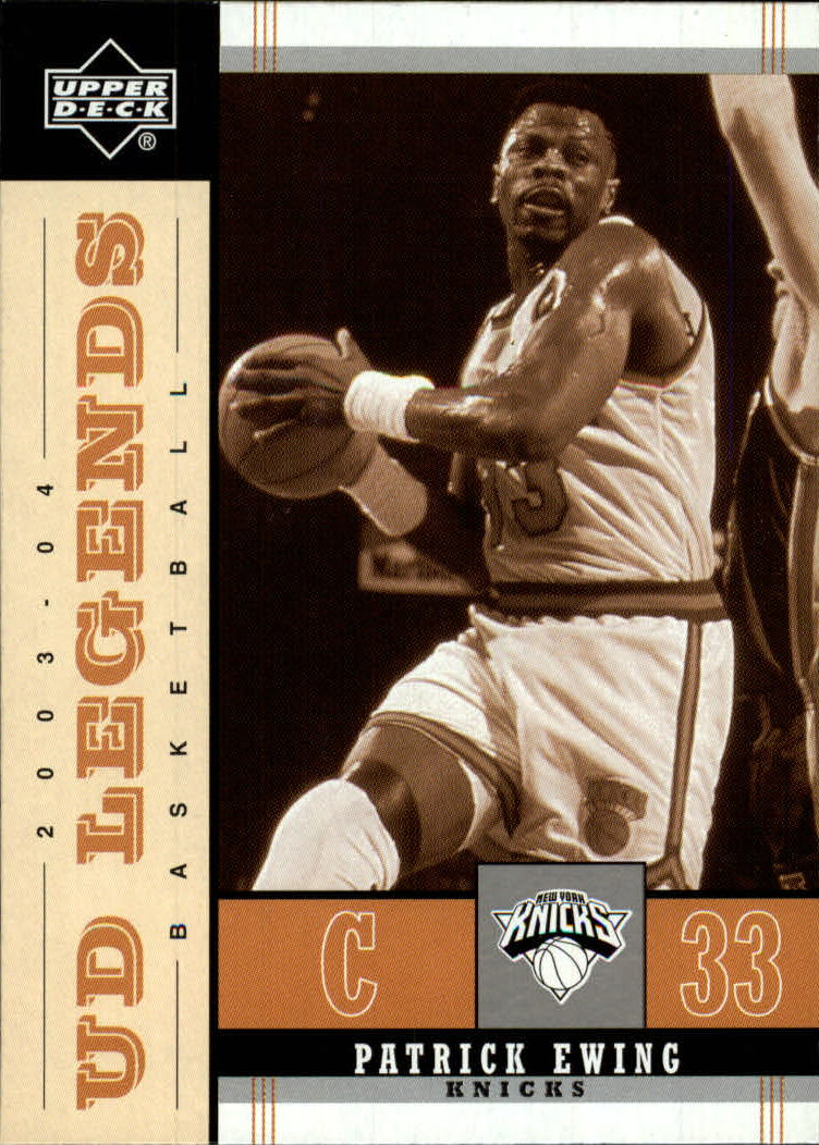 2003-04 Upper Deck Legends Throwback #59 Patrick Ewing