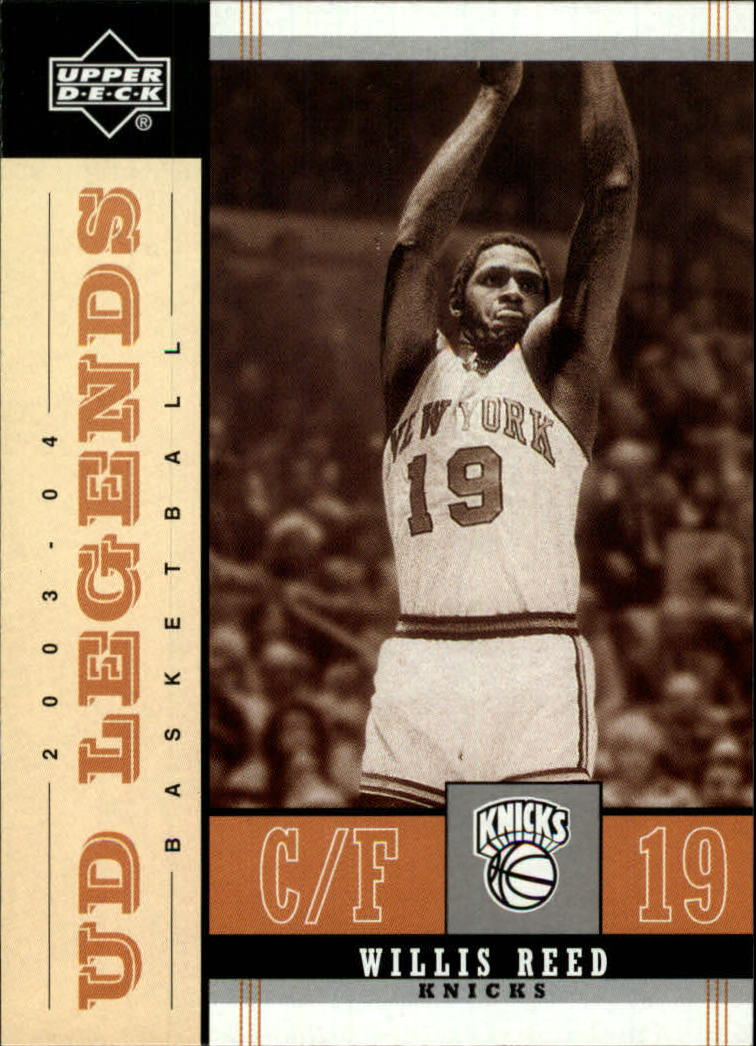 2003-04 Upper Deck Legends Throwback #60 Willis Reed