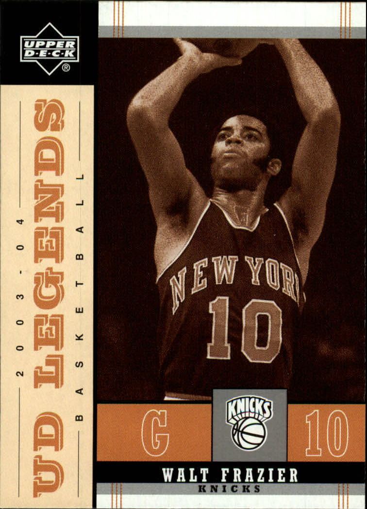 2003-04 Upper Deck Legends Throwback #61 Walt Frazier