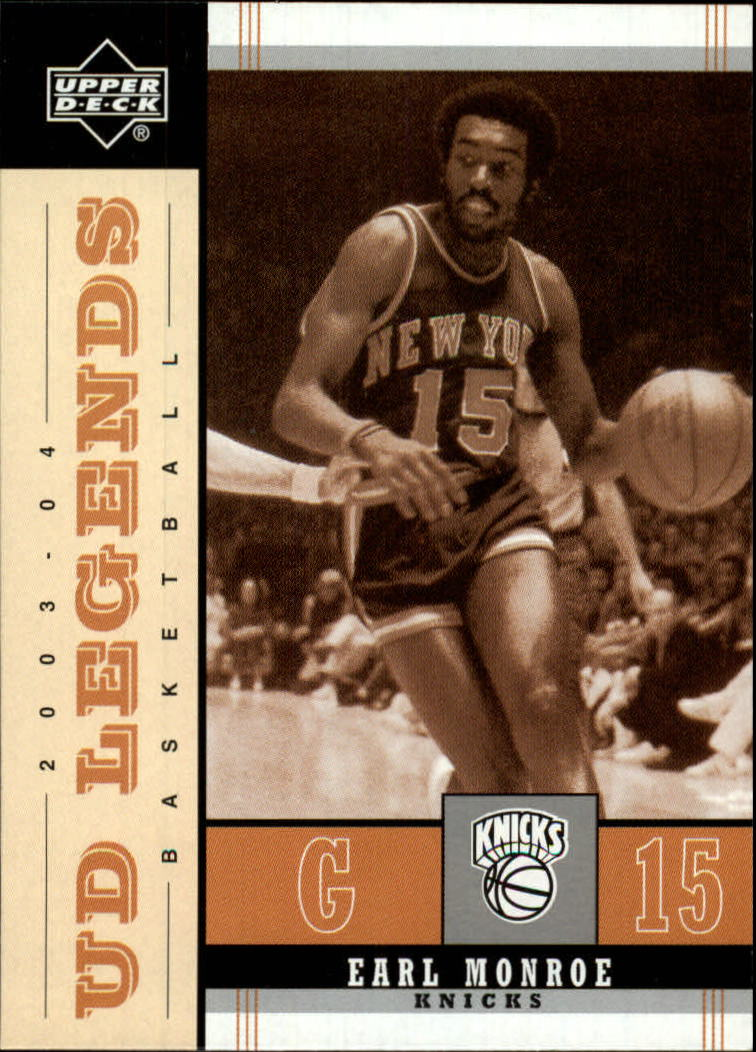 2003-04 Upper Deck Legends Throwback #62 Earl Monroe