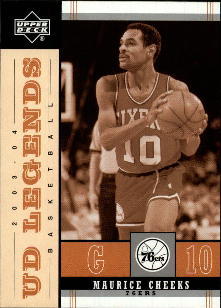 2003-04 Upper Deck Legends Throwback #66 Maurice Cheeks