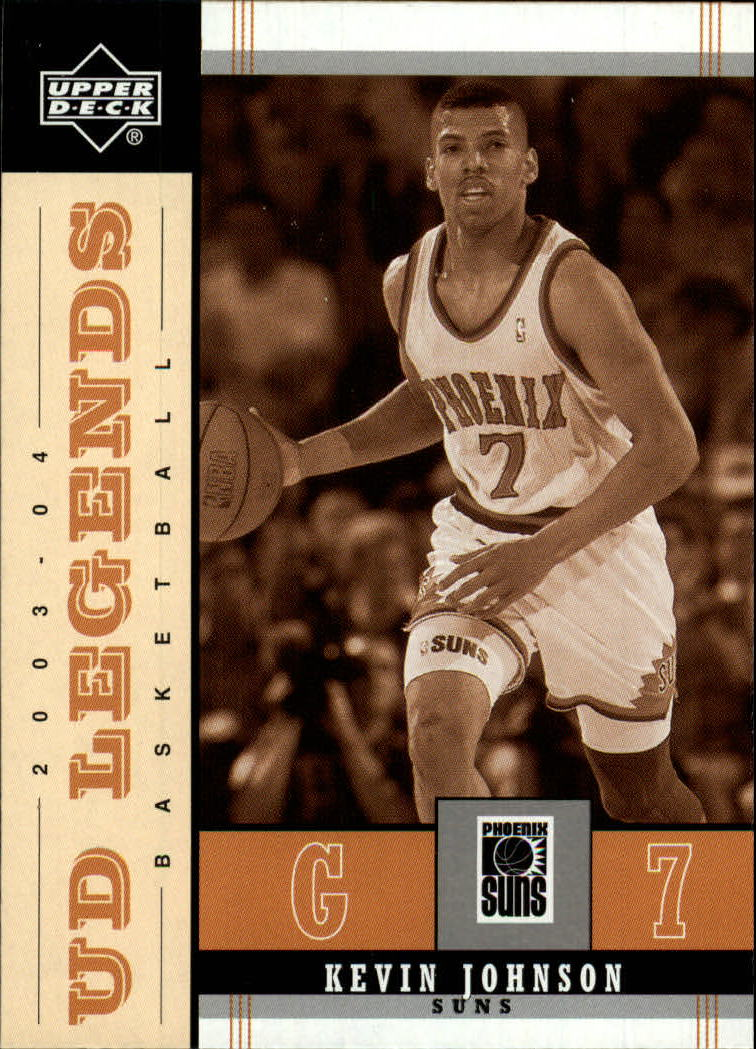 2003-04 Upper Deck Legends Throwback #68 Kevin Johnson