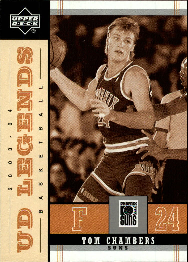 2003-04 Upper Deck Legends Throwback #69 Tom Chambers