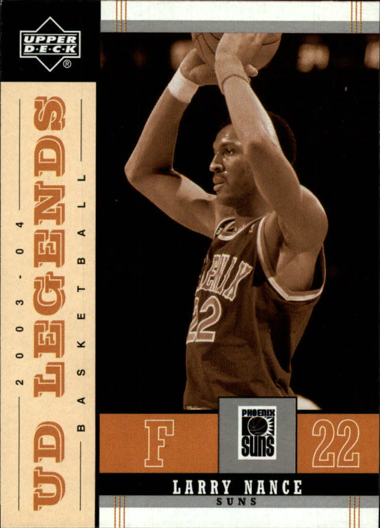 2003-04 Upper Deck Legends Throwback #70 Larry Nance