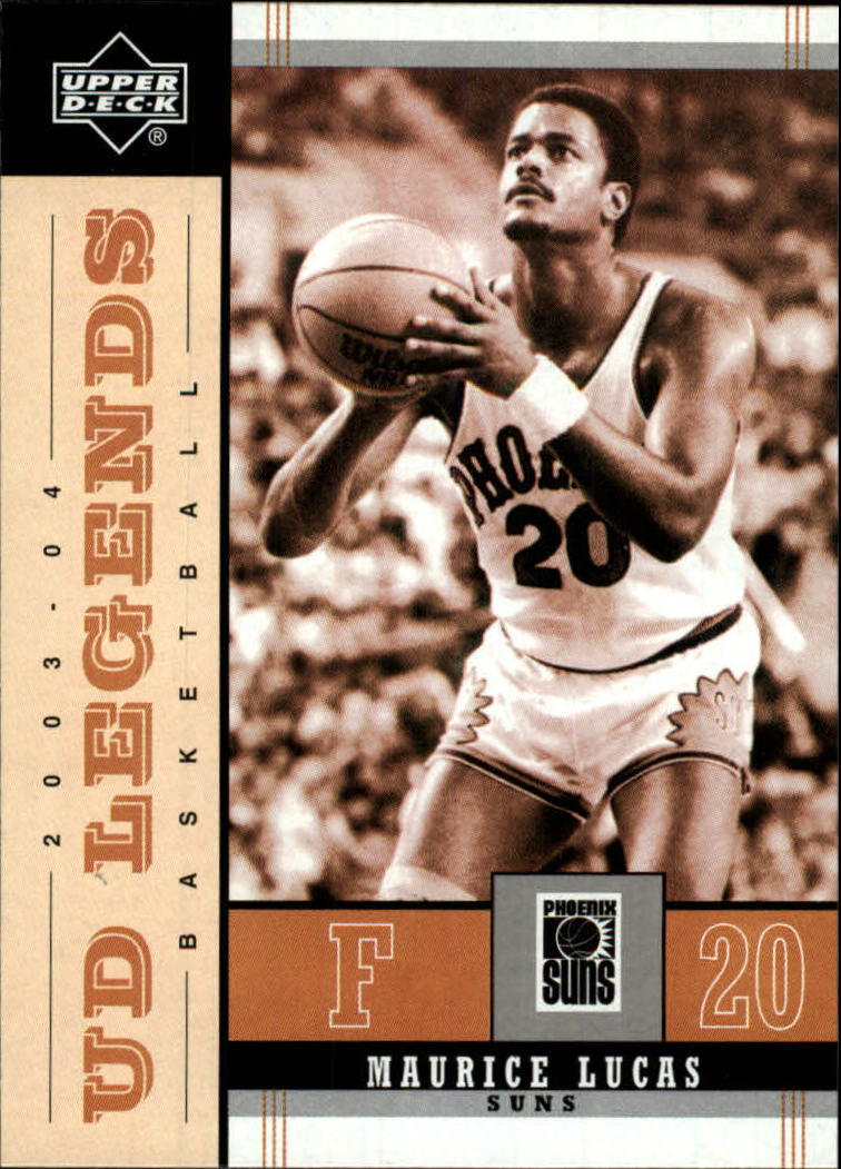 2003-04 Upper Deck Legends Throwback #72 Maurice Lucas