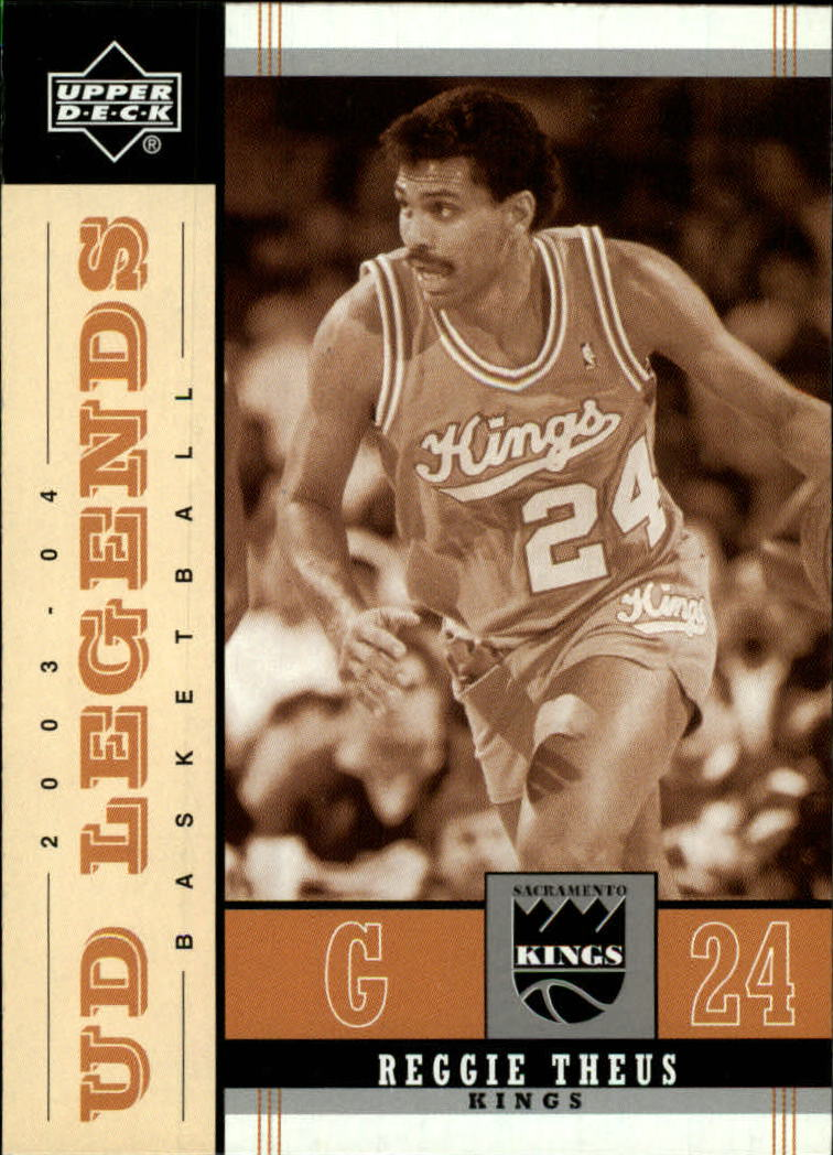 2003-04 Upper Deck Legends Throwback #77 Reggie Theus