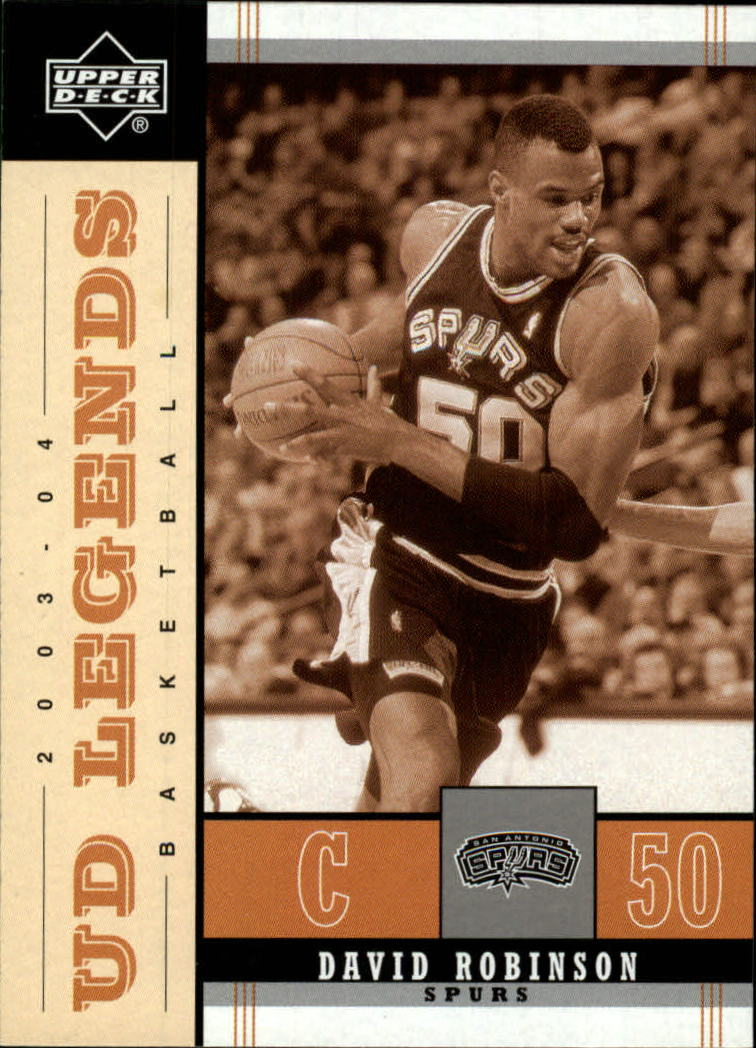 2003-04 Upper Deck Legends Throwback #79 David Robinson