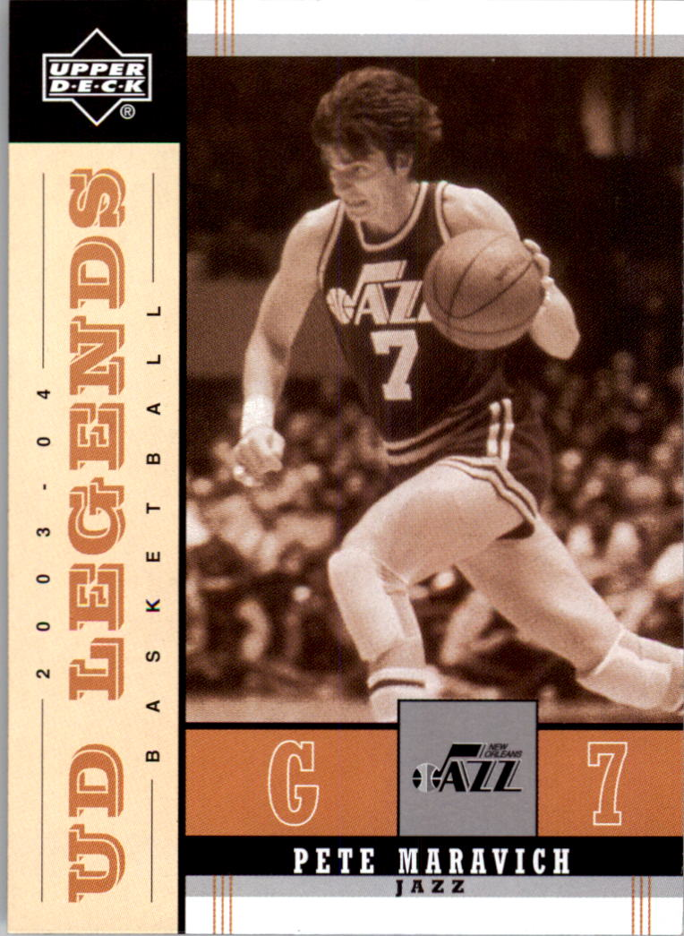 2003-04 Upper Deck Legends Throwback #86 Pete Maravich