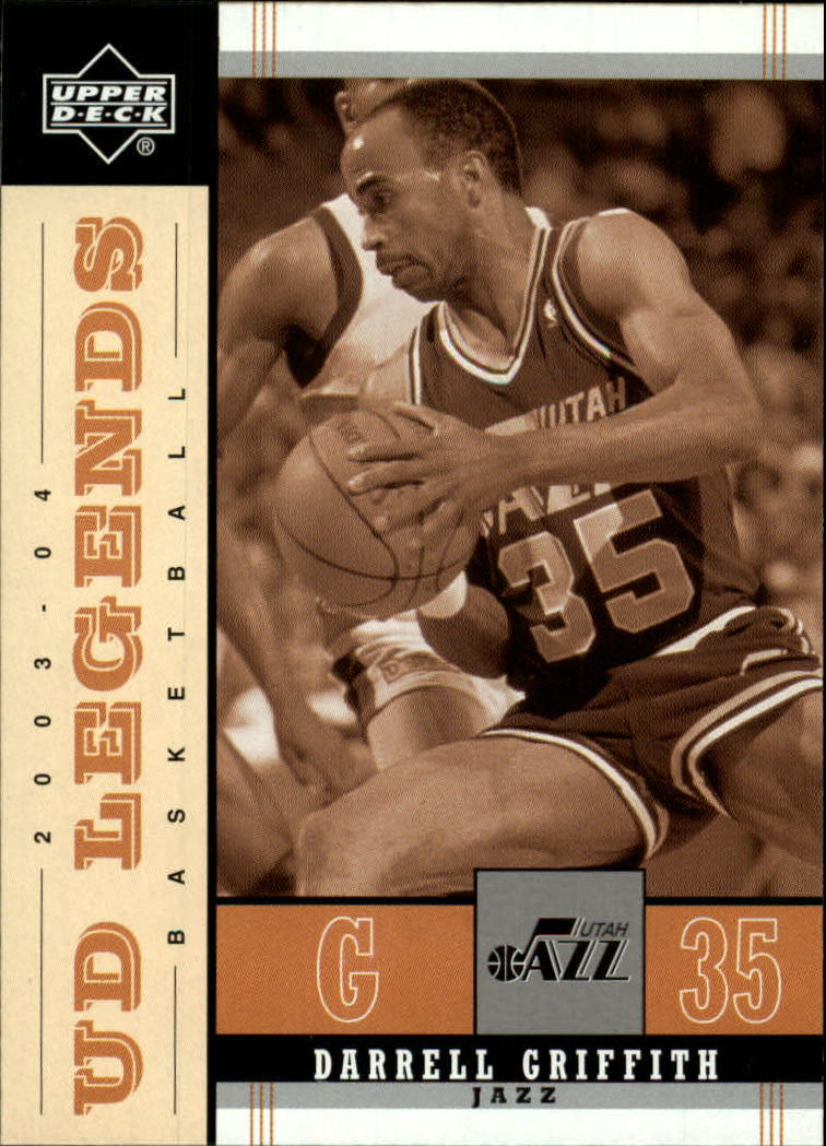 2003-04 Upper Deck Legends Throwback #88 Darrell Griffith