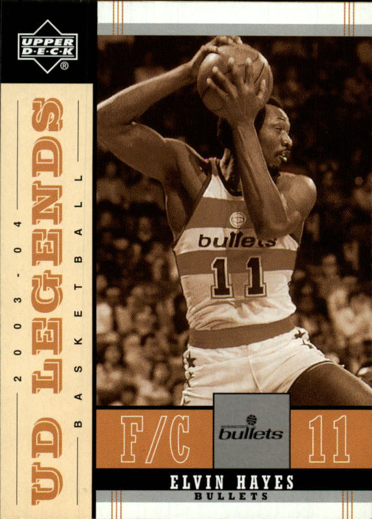 2003-04 Upper Deck Legends Throwback #90 Elvin Hayes