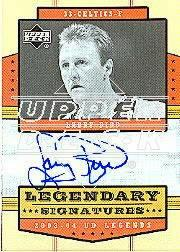 2003-04 Upper Deck Legends Legendary Signatures #LB Larry Bird SP