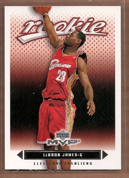 2003-04 Upper Deck MVP #201 LeBron James RC