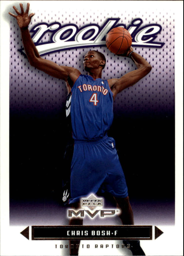 2003-04 Upper Deck MVP #204 Chris Bosh RC