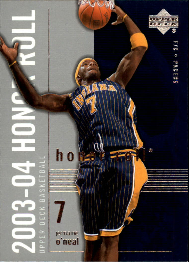 2003-04 Upper Deck Honor Roll #29 Jermaine O'Neal