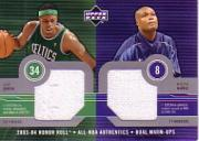 2003-04 Upper Deck Honor Roll Dual Warm Ups #16 Paul Pierce/Antoine Walker