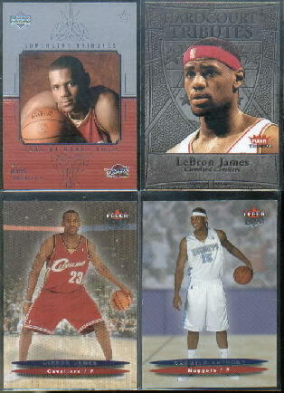2003-04 Upper Deck Honor Roll Superstar Tributes #ST3 LeBron James
