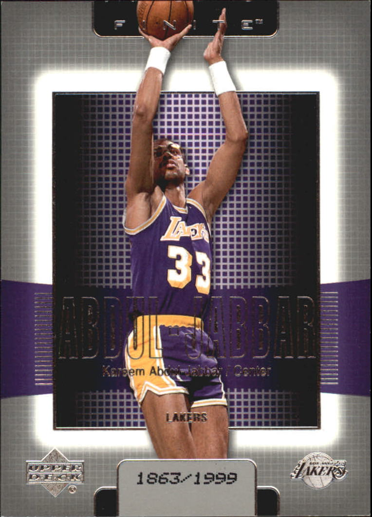 2003-04 Upper Deck Finite #78 Kareem Abdul-Jabbar