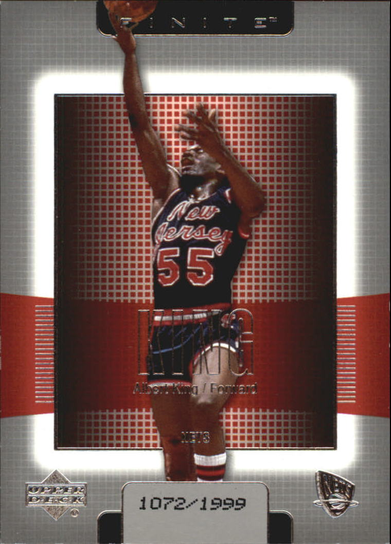 2003-04 Upper Deck Finite #114 Albert King