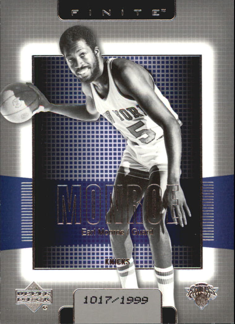 2003-04 Upper Deck Finite #130 Earl Monroe