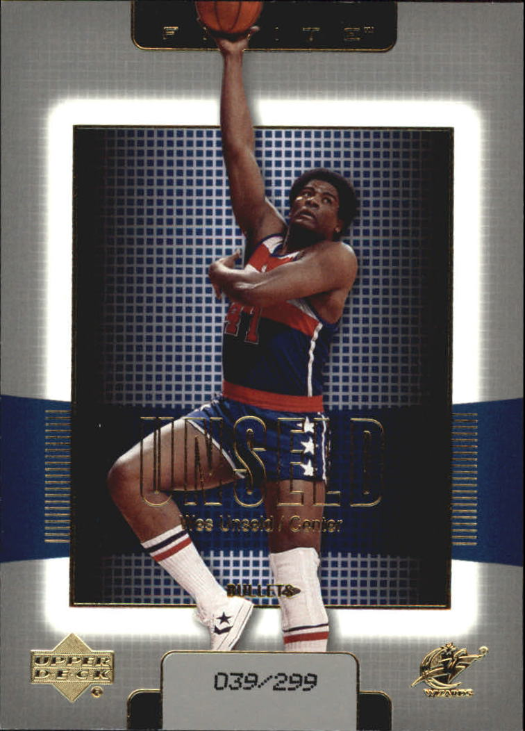 2003-04 Upper Deck Finite Gold #195 Wes Unseld