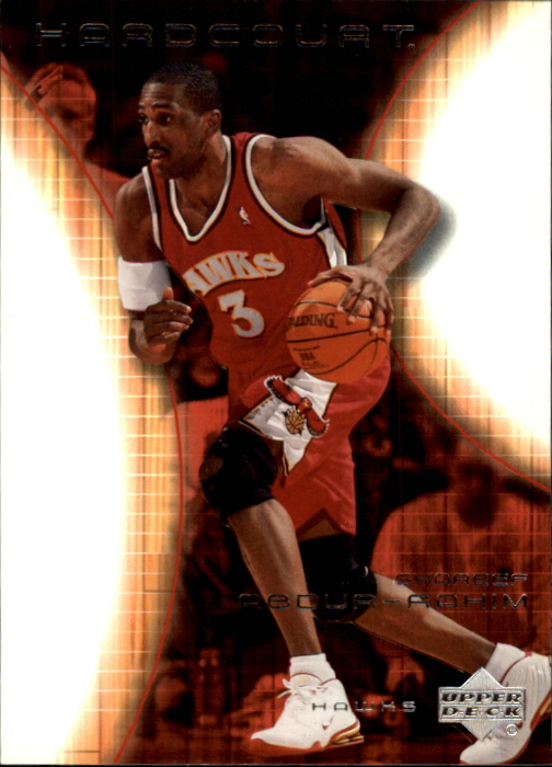 2003-04 Upper Deck Hardcourt #1 Shareef Abdur-Rahim