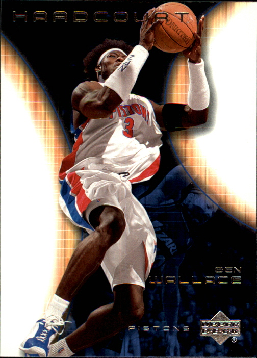 2003-04 Upper Deck Hardcourt #20 Ben Wallace